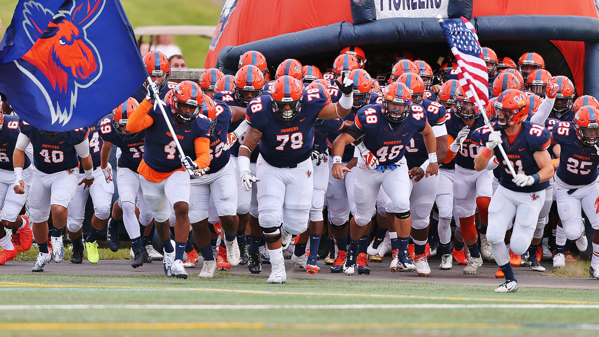 Uc Football Earns Five All Conference Selections Utica College